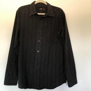 O'Neill Men's Long Sleeve Button Down Shirt L